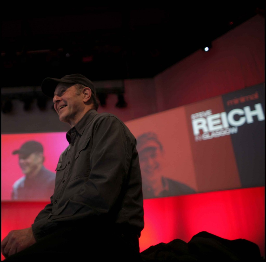 World famous composer, Steve Reich