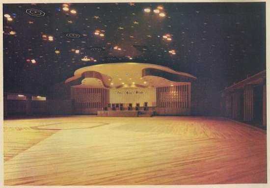 Interior 1960, from the commemorative programme.