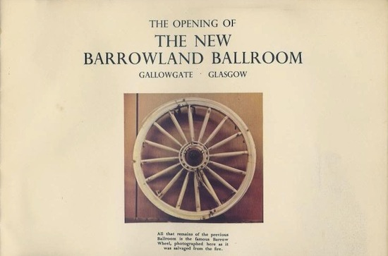 The rescued barrow wheel, from commemorative programme 1960