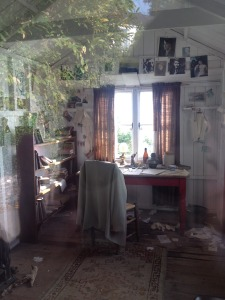 Dylan Thomas's writing shed.