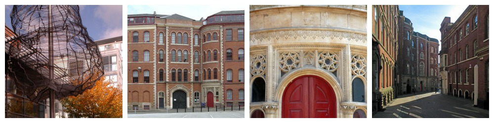 Lace Market Square (CQ), The Adams Building, Back Door Detail, Broadway & Birkin Building (Geograph.org.uk),